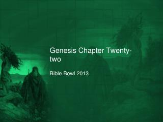 Genesis Chapter Twenty-two
