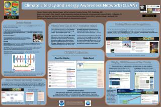 Climate Literacy and Energy Awareness Network (CLEAN)
