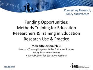 Meredith Larson, Ph.D.