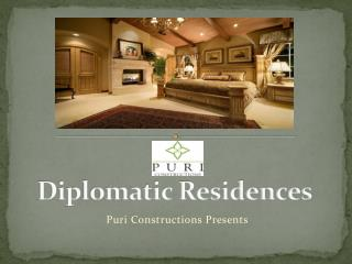 Diplomatic Residences Gurgaon SAAV