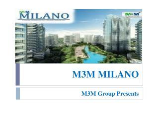 M3M Milano Gurgaon SAAV