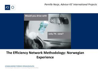 The  Efficiency  Network  Methodology : Norwegian  Experience