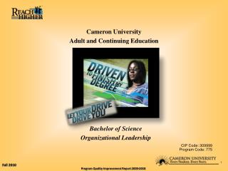 Cameron University Adult and Continuing Education