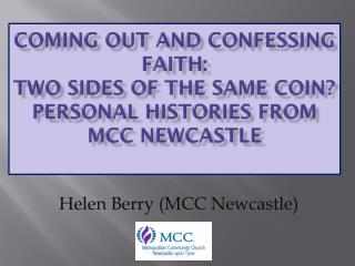 Helen Berry (MCC Newcastle)