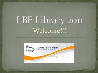LBE Library 2011