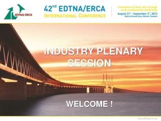 INDUSTRY PLENARY SESSION