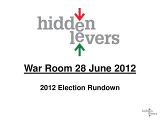 War Room 28 June 2012 2012 Election Rundown