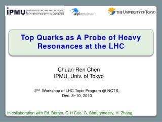 Chuan- Ren  Chen IPMU, Univ. of Tokyo