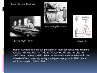 Robert Goddard by Luke