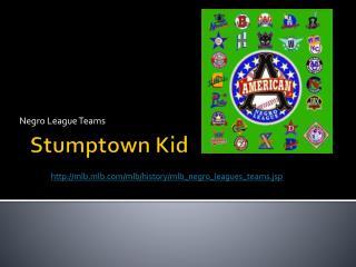 Stumptown Kid