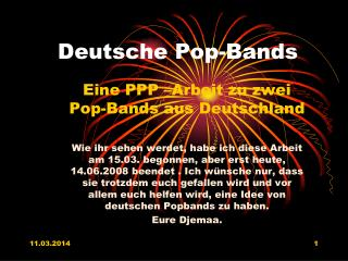 Deutsche Pop-Bands