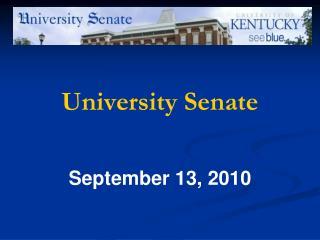 University Senate