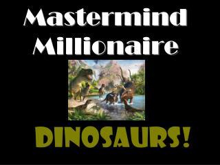 Mastermind Millionaire