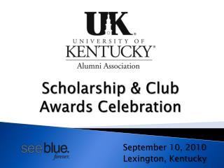 Scholarship & Club Awards Celebration