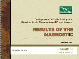 Development of the Public Participation  Manual for Border Communities and Project Sponsors
