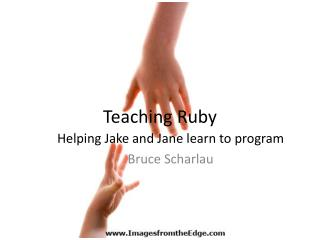 Teaching Ruby