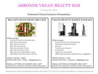 Preferred Client Exclusive Promotions