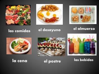l as comidas
