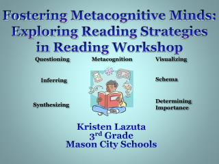 Fostering  Metacognitive  Minds: Exploring Reading Strategies in Reading Workshop