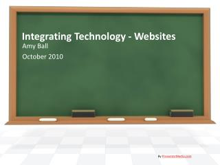 Integrating Technology - Websites