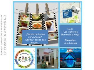 Jornadas provinciales de convivencia+ CEP  de Granada. 21 de mayo de 2014