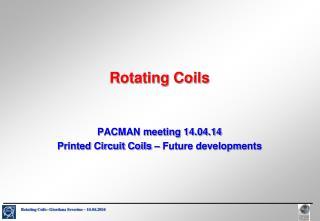 Rotating Coils
