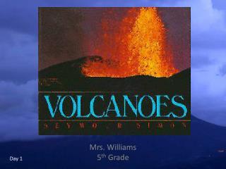 Mrs. Williams 5 th  Grade