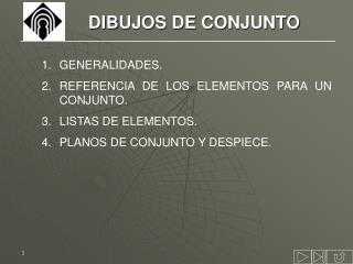 DIBUJOS DE CONJUNTO