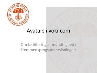 Avatars i  voki.com