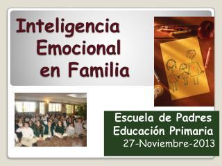 Inteligencia Emocional    en Familia