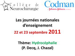 Organisation Paris, 22 et 23/9/2011