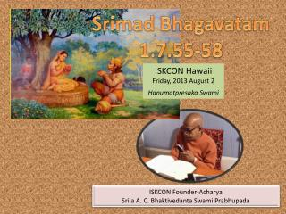 Srimad Bhagavatam 1.7.55-58