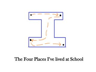 The Four Places I've lived at School
