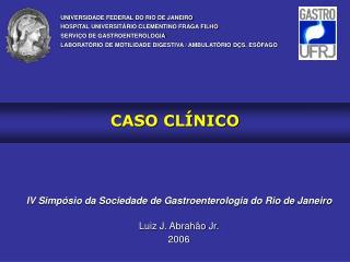 CASO CL NICO