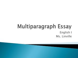 5 paragraph essay powerpoint