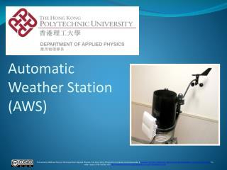 Automatic Weather Station (AWS)