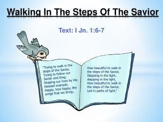 Walking In The Steps Of The Savior