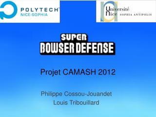 Projet CAMASH 2012