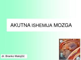 AKUTNA ISHEMIJA MOZGA