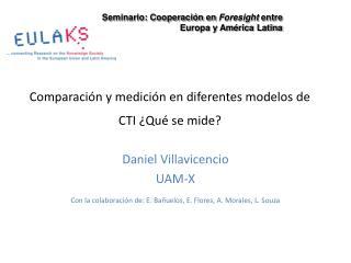Comparaci n y medici n en diferentes modelos de CTI  Qu  se mide