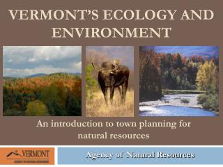 Vermont's Ecology and Environment