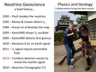 Neutrino Geoscience a brief history�