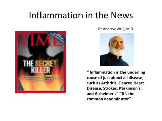 Inflammation in the News