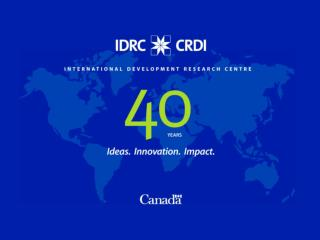 IDRC Funding &  Awards   -  Financement &  B ourses : http://www.idrc.ca/