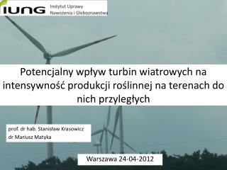 Warszawa 24-04-2012