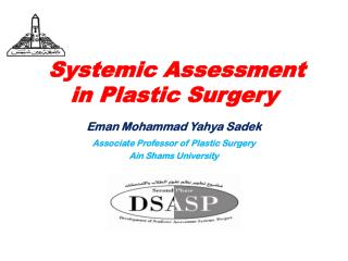 Systemic Assessment  in Plastic Surgery