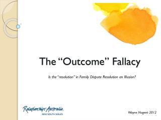 "The ""Outcome"" Fallacy"