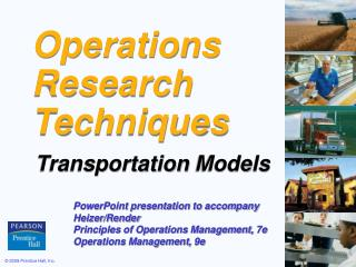 Operations  Research Techniques