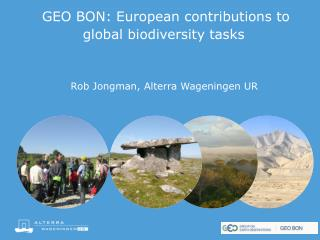 GEO BON: European  contributions to global biodiversity tasks