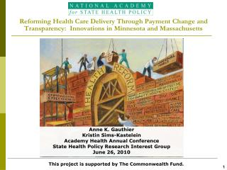 Anne K. Gauthier Kristin Sims-Kastelein Academy Health Annual Conference